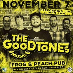 Nov 7 The Good Tones at Frog and Peach! - Uploaded by Tim Azzy