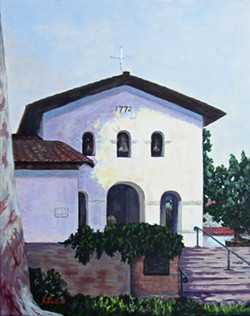 Mission San Luis Obispo - Uploaded by Rosemary Bauer