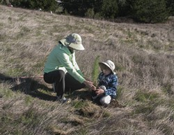 Teach a child to plant a tree - Uploaded by Barbara Beuche