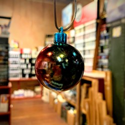 Metallic Alcohol Ink Ornament - Uploaded by the1artery 3