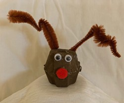 Egg Carton Reindeer - Uploaded by the1artery 3