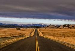 """The Sherpa Fire, Armour Ranch Road, Santa Ynez, California,"" - Uploaded by Wildling Museum Intern"