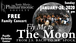 Fly Me To The Moon: From J.S. Bach to Mr. Spock - Uploaded by Megan DeCicco