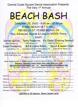 FIRST ANNUAL BEACH BASH SQUARE, ROUND & LINE DANCE - Uploaded by SquareDance CentralCoast