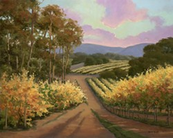 Autumn Gold - Uploaded by Gallery Los Olivos
