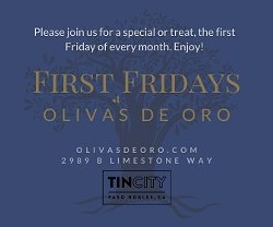 First Fridays at Olivas de Oro - Uploaded by Rachel Hagins