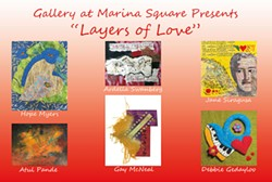 "Gallery at Marina Square presents ""LAYERS OF LOVE"" a Mixed Media Collage Show - Uploaded by Gregory Siragusa"