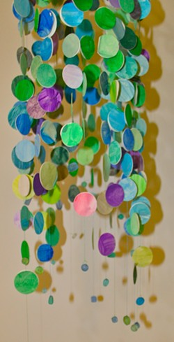 Paper and Glass Beads - Uploaded by Lori Wolf Grillias