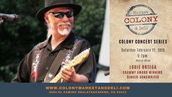 Grammy Winning Louie Ortega LIVE at Colony Market and Deli - Uploaded by Joanna Wemple