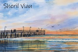 Watercolors by Sheril Viau - Uploaded by Gregory Siragusa