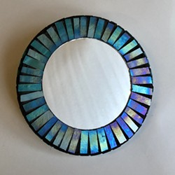 Mosaic Mirror - Uploaded by Lisa R Falk
