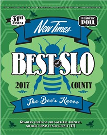 Best of SLO County 2017 - 31st Annual Readers Poll