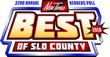 Best of SLO County 2018<br> Readers Poll Results Virtual Publication