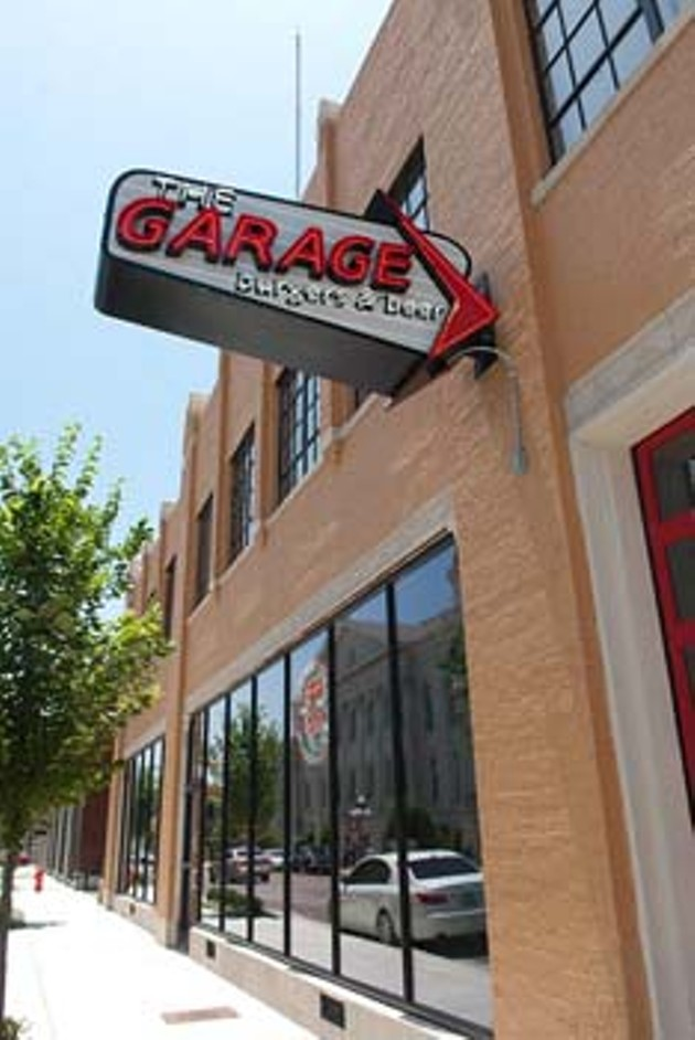 The Garage Burgers & Beer, in Midtown.  mh