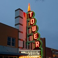 Tower Theatre flashes lights as anticipation builds for opening