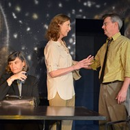 Carpenter Square Theatre's <em>Creating Claire</em> humorously explores the conflict between science and religion