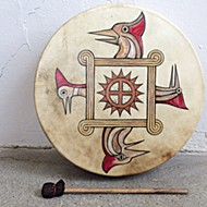 Exhibit C drum show and other exhibitions highlight Native art