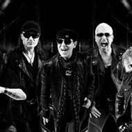 Pioneering German rock band Scorpions play Rocklahoma