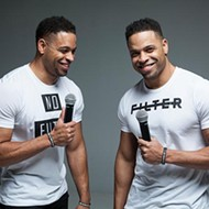 The Hodgetwins bring internet laughs to a live audience at ACM@UCO Performance Lab
