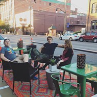 First semipermanent parklet is installed in Bricktown