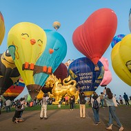 Cover Story: A hot air balloon event rises above average festival fare