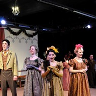 <em>Jane Austen's Christmas Cracker!</em> pulls audience members into the author's 19th century world