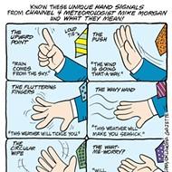 Cartoon: Mike Morgan's hand signals