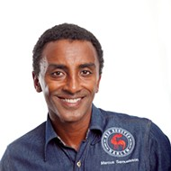 Celebrity chef Marcus Samuelsson dishes on healthy recipes and gives <em>Chopped</em> advice