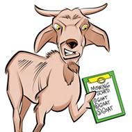 Chicken-Fried News: Goat power