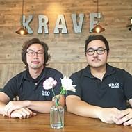 Jun Koo and David Kim are co-owners of Krave Teriyaki.