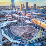 Chickasaw Bricktown Ballpark is undergoing a $2.5 million facelift that includes a completely new playing surface.