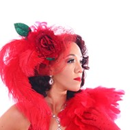 Raven Rose is an award-winning burlesque performer who began her career in burlesque after transitioning from professional cheerleading.