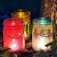 Boho lanterns