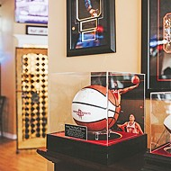 Freddy Nguyen's friendships with sports legends are reflected in Park Harvey Sushi's decor and memorabilia.