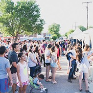 This year's Asian District Night Market Festival features 10 food trucks and 13 food vendors.
