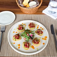 Tuna Tostaditos is Frida Southwest's answer to tuna <i>tartare</i>.