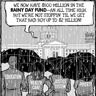 Cartoon: Rainy Day