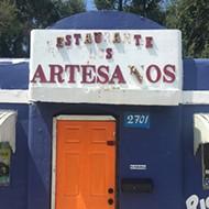 Restaurante Los Artesanos is located at 2701 S. Walker Ave.