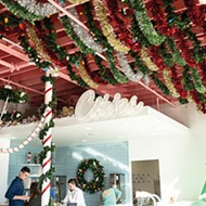 Cities Ice Cream is decked out in a Christmas theme for its holiday pop-up.