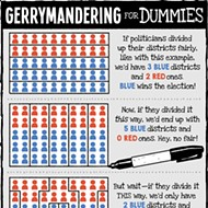 Cartoon: Gerrymandering for Dummies