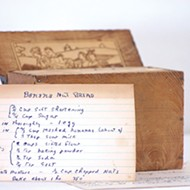 Recipe boxes used to be a kitchen staple, but many are being lost to time.