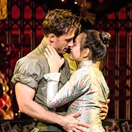 Emily Bautista plays Kim and Anthony Festa plays Chris in <i>Miss Saigon</i>.