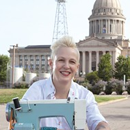 Marilyn Artus will sew the first 19 stripes onto the flag's star field 2:30-4 p.m. Jan. 18 at Oklahoma History Center.