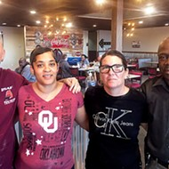 <i>from left</i> Heifer & Hens Restaurant and Bakery owners Brian Harris, Nicole Harris, Lorie Pompey and Darryl Pompey