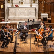 Brightmusic Chamber Ensemble plays <i>Rustic Gardens</i> 7 p.m. Tuesday at Saint Paul's Cathedral.