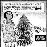 Cartoon: Weed killers