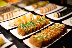 Shushi at Fuze, Monday, April 4, 2016. - GARETT FISBECK