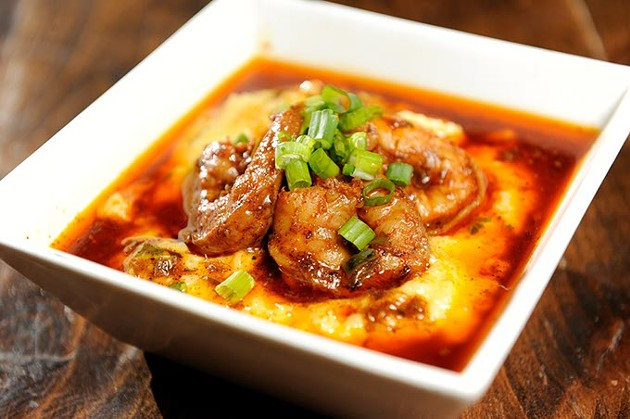 Shrimp and grits (Garett Fisbeck)