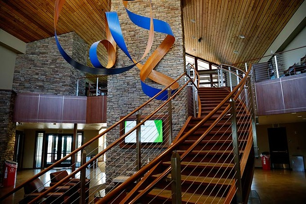 Lincoln Park Golf Course new clubhouse in Oklahoma City, Monday, May 11, 2015. - GARETT FISBECK