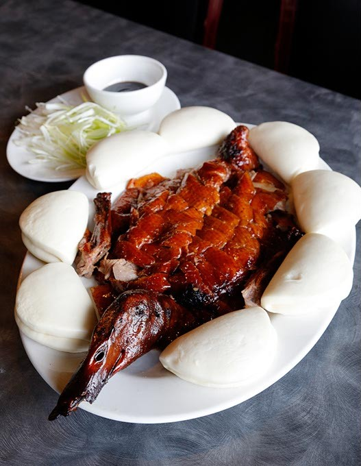Peking Duck at Golden Phoenix in Oklahoma City, Thursday, May 14, 2015. - GARETT FISBECK
